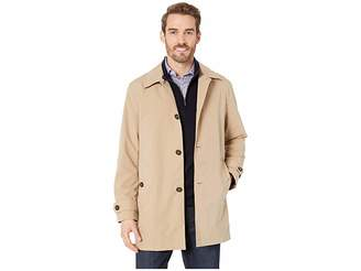cb44df2f6824 Cole Haan Stand Collar Rain Jacket with Back Hem Vent