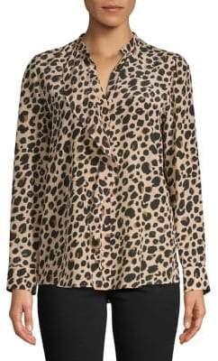 Marella Leopard Print Shirt