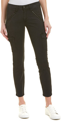 AG Jeans The Whitt Sulfur Black Super Skinny Cargo Ankle Cut