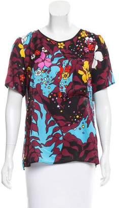 Tome Surplice Printed T-Shirt w/ Tags