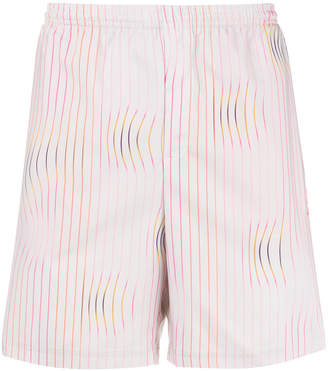 adidas Warped Stripe swim shorts