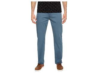 7 For All Mankind The Straight Tapered Straight Leg w/ Clean Pocket in Blue Wave