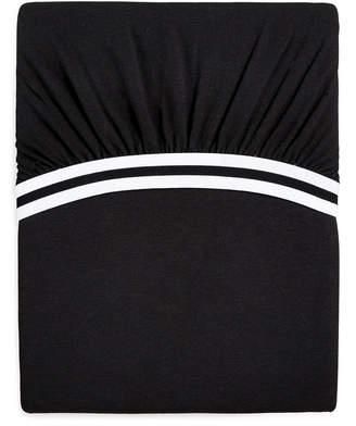 Calvin Klein (カルバン クライン) - Calvin Klein Modern Cotton Harrison Black California King Fitted Sheet Bedding