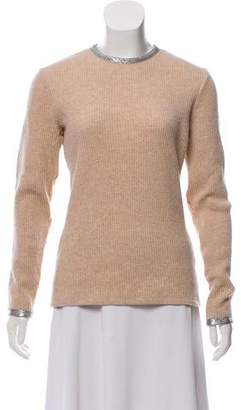 Paco Rabanne Virgin Wool Long-Sleeve Sweater