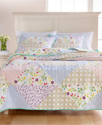 Martha Stewart Collection Pergola Patchwork Full/Queen Quilt