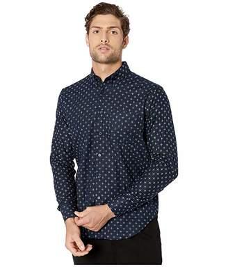 Naked & Famous Denim Easy Shirt - Kimono Plus Print Button-Down