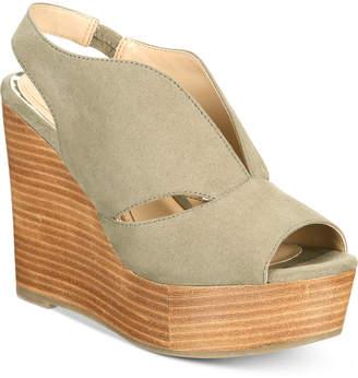 Callisto Franklin Platform Wedge Sandals Women's Shoes