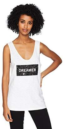 Kenneth Cole Women's Dreamer Low Scoop Embellished Tank