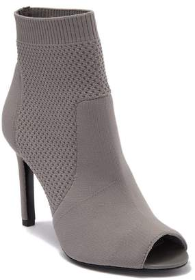 Charles David Ideal Knit Peep Toe Sock Bootie