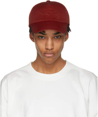Y-3 Red Logo Trucker Hat