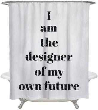 Oliver Gal Designer of My Future Shower Curtain