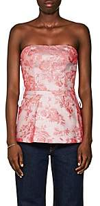 MANNING CARTELL Women's Kyoto Calling Floral Jacquard Bustier Top - Pink