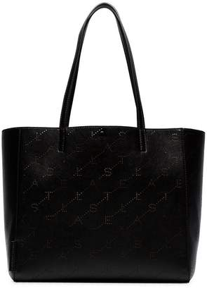 Stella McCartney black Monogram large tote