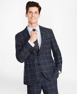 Brooks Brothers Windowpane Two-Button Suit