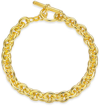 Giani Bernini Wide Rolo Link Toggle Bracelet in 18k Gold-Plated Sterling Silver