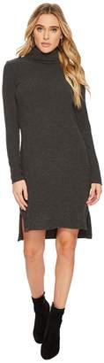 Heather Ava Rib T-Neck Dress Women's Dress