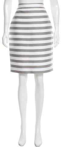 Kate Spade New York Striped Pencil Skirt