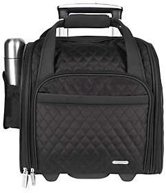 Travelon Wheeled Underseat Carry-On Bag with Ba