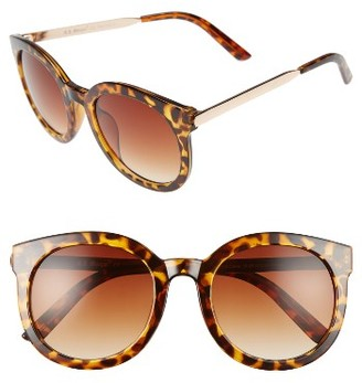 Women's A.j. Morgan Cat D 53Mm Sunglasses - Tortoise $24 thestylecure.com