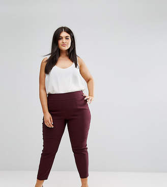 Asos Design Curve Skinny Crop Pants