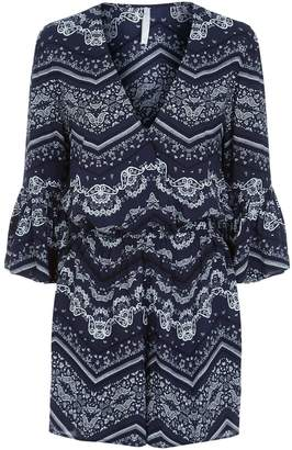 Seafolly Bandana Print Playsuit