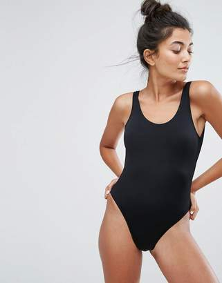 New Look High Leg Swimsuit