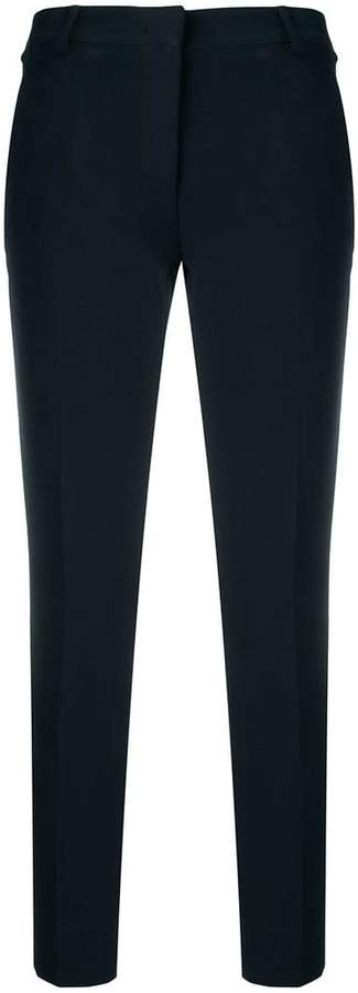 Blanca cropped slim-fit trousers