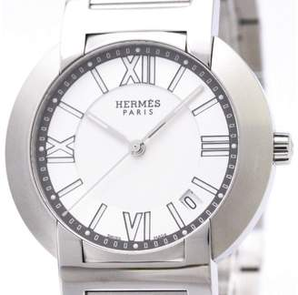 Hermes Nomade NO1.710 Auto Quartz Stainless Steel 36mm Mens Dress Watch