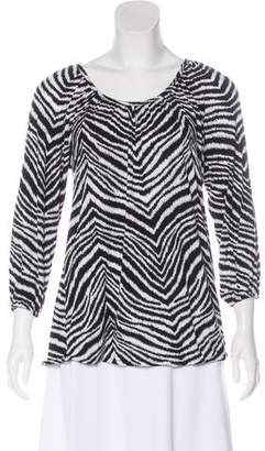 MICHAEL Michael Kors Jersey Long Sleeve Top
