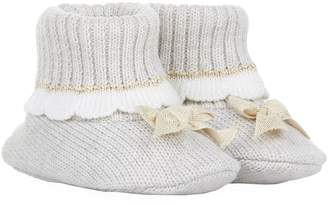 Bimbalo Knitted Bow Booties