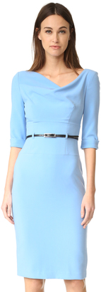 Black Halo 3/4 Sleeve Jackie O Dress $375 thestylecure.com