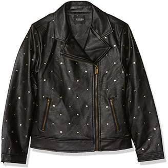 GUESS Girl's Biker Jacket,140 cm