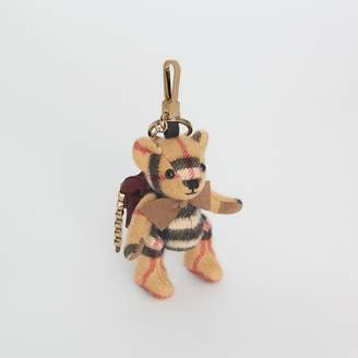 Burberry Thomas Bear Charm in Vintage Check Cashmere