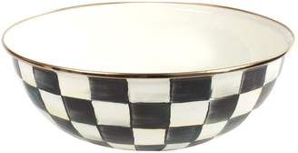 Mackenzie Childs Courtly Check Enamel Bowl (24cm)