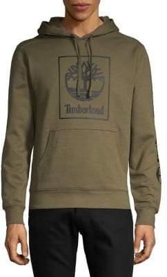 Timberland Block Logo Graphic Hoodie