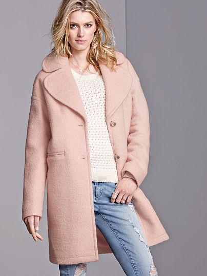 Victoria's Secret Boyfriend Coat