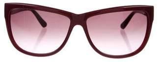 Valentino Wayfarer Tinted Sunglasses