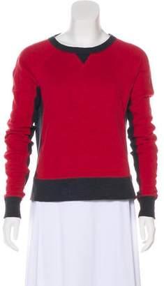 Rag & Bone Crew Neck Knit Sweatshirt