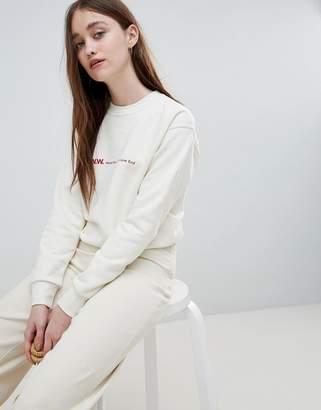 Wood Wood Tara Logo Sweatshirt