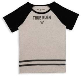 True Religion Little Boy's & Boy's Branded Logo Tee