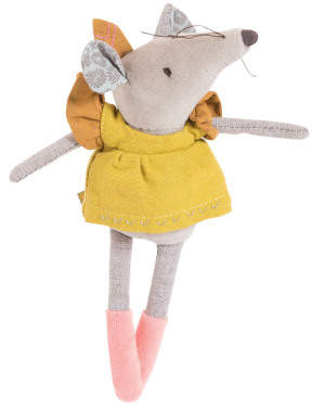 Moulin Roty Lisette Mouse Soft Toy 20cm