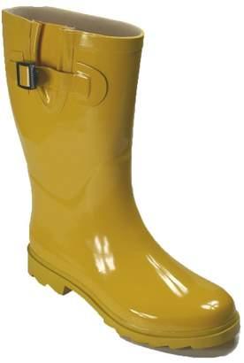 Own Shoe Womens Mutiple Styles Rain Snow Winter Flat Rubber Mid Calf Short Rainboot