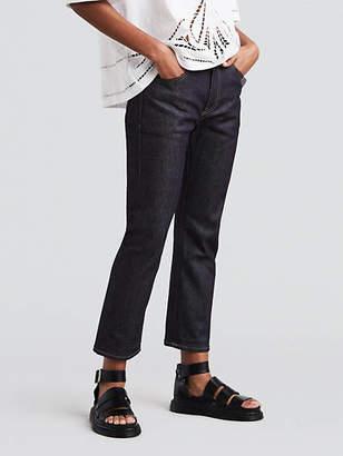 Levi's Straight Crop Jeans