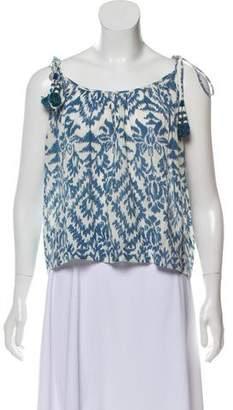 Love Sam Printed Sleeveless Top