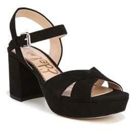 Sam Edelman Jolene Suede Platform Sandals