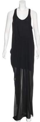 Acne Studios Chiffon Maxi Dress