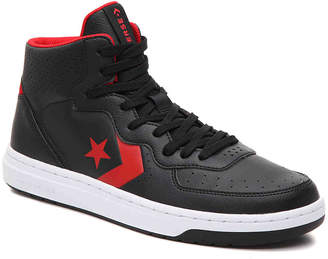 Converse Chuck Taylor All Star Rival Mid High-Top Sneaker -Black/Red - Men's