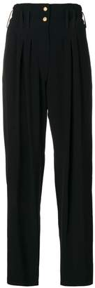 Balmain high waisted trousers