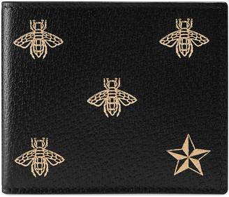 Gucci Bee Leather Wallet
