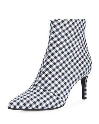 Rag & Bone Beha Gingham Ankle Boot